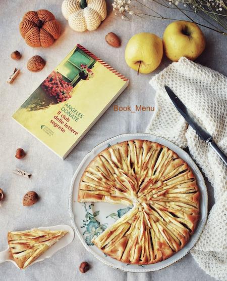 Feltrinelli Il club delle lettere segrete torta di mele Angeles Donate