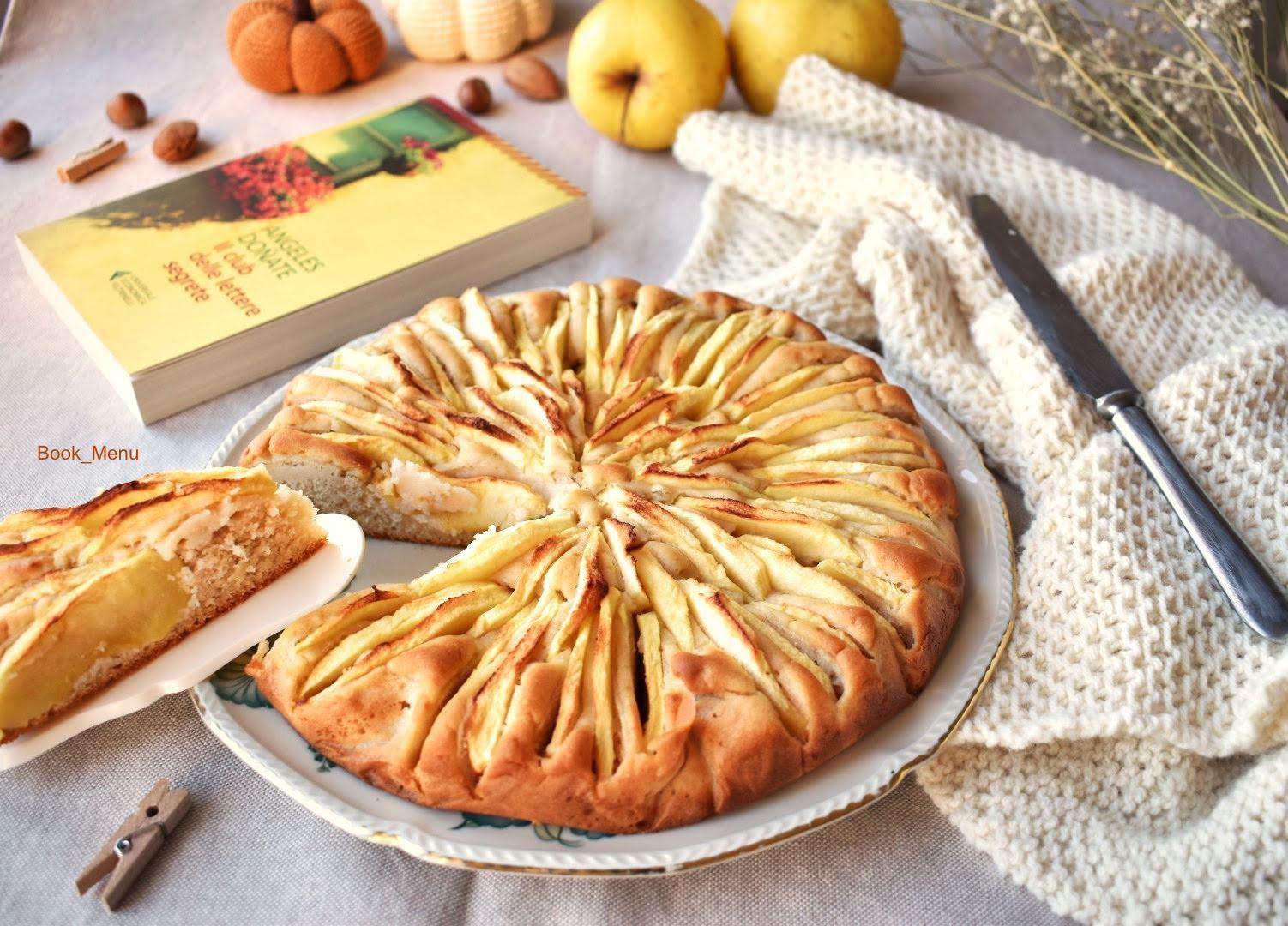Il club delle lettere segrete torta di mele Feltrinelli