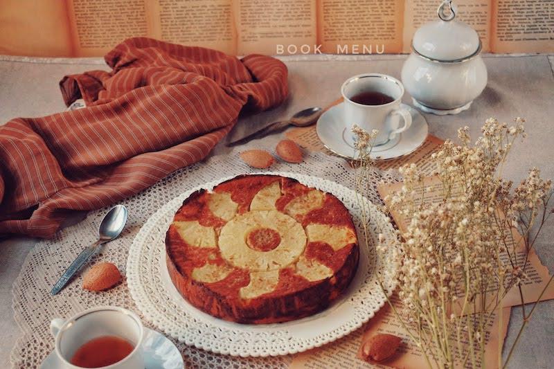 torta all'ananas senza farina
